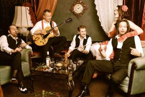 VILOU & the Gipsy Gentlemen -  Konzert, Hochzeit, Party, Event