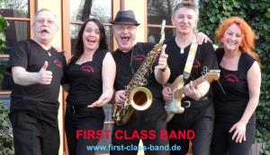 FIRST CLASS BAND - Top Party- und Tanzmusik Live