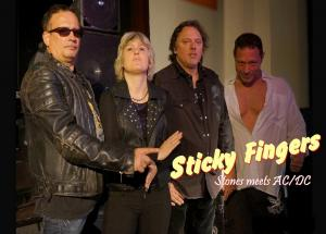 STICKY FINGERS, Classic-Rock- Band