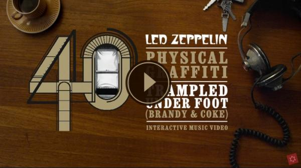 "LED ZEPPELIN: Bahnbrechendes neues Video zum Rough-Mix von ""Trampled Under Foot"""